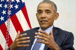 B. Obama savo vaikystės mieste ragino siekti tolerancijos ir vienybės