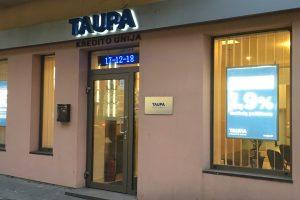 "Kredito unija ""Taupa"" taps banku"