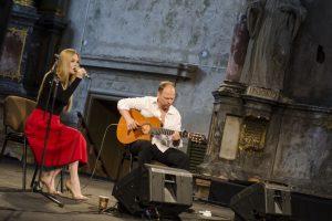 O. Kolobovaitė ir A. Globys kviečia pasiklausyti pietietiškos muzikos