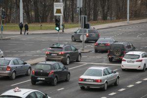 Vilniuje rekonstruota Kareivių ir Verkių gatvių sankryža