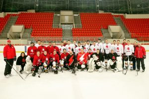 Lietuvos ledo ritulininkai: dalyvausim kitose žiemos olimpinėse žaidynėse