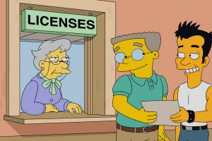 """""""Simpsonų"""" personažas prisipažino esantis gėjus"""