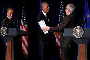JAV ir Europa globalius klausimus spręs kartu