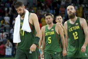 Po Rio olimpiados Lietuvos krepšinio rinktinė FIBA reitinge krito žemyn