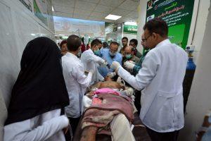 Jemene koalicijos aviacija užmušė per 30 sukilėlių ir kalinių