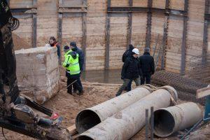 Vilniuje ekstremali situacija neatšaukiama