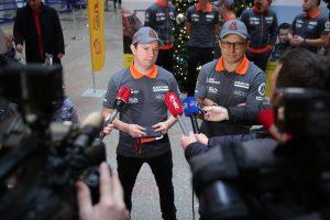 """Dakaro """"vilkas"""" A. Juknevičius išlydėtas į sunkiausias pasaulio lenktynes"""