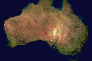 Nuo 2017-ųjų Australijos žemynas bus oficialiai pastumtas 1,8 m