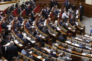 Skaidrumo siekiantys Ukrainos parlamentarai nenori pradėti nuo savęs