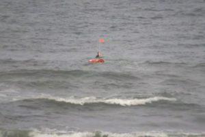 Olandijoje išbandytas savaeigis gelbėjimo ratas
