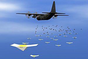 Oro žvalgybos ateitis: 100 skraidyklių spiečius elgiasi kaip gyvas