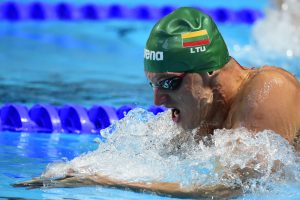 Plaukikui G. Titeniui – varžybų Italijoje bronza