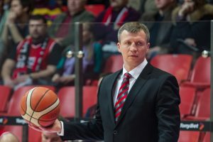 Krepšinio treneris T. Pačėsas: mane tikrai lydi sėkmė