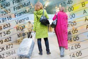 Lietuvos oro uostuose keleivių šiemet padaugėjo 15,4 proc.
