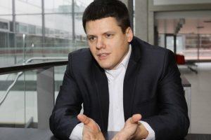 Rezidentas M. Gedminas: jaunas gydytojas atlieka kurjerio darbą