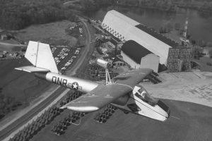 Pripučiamas lėktuvas kariuomenei: kodėl toks buvo kuriamas?