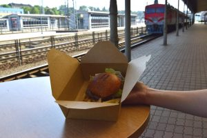 Vasaros kelionių traukiniais sezonas pradėtas vaišėmis sostinės perone