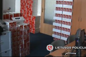 Surastas pavogtas 30 tūkst. eurų vertės spausdinimo kasečių krovinys