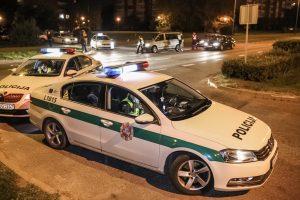 Policijos reidas uostamiestyje: įkliuvo girta vaiką vežusi moteris
