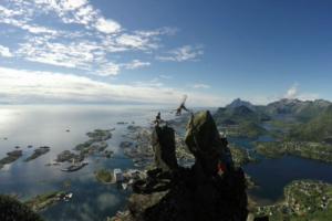 Norvego avantiūra – kūlverstis ant įspūdingos viršukalnės