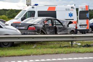 Per savaitę avarijose žuvo keturi žmonės