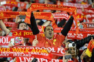 """""""Liverpool"""" pergalę Australijoje stebėjo 95 000 prisiekusių klubo sirgalių"""