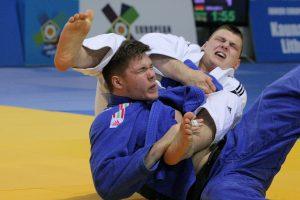 Europos dziudo turnyre lietuviai pasidabino sidabro medaliais