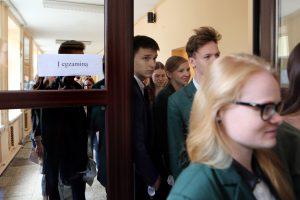 Egzaminų rezultatai nudžiugino ne visus klaipėdiečius