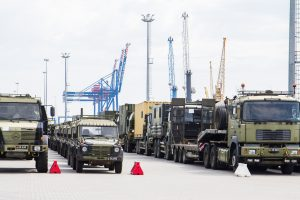 Į Klaipėdą atvyksta NATO batalione tarnausiantys belgų kariai