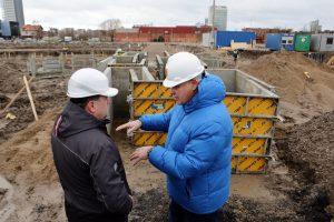 Baseino statyboms – išskirtinis dėmesys
