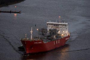 Pirmasis SGD krovinys išplaukė į Švediją