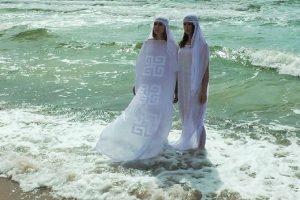Kolekciją inspiravo jūra ir baltų ženklai