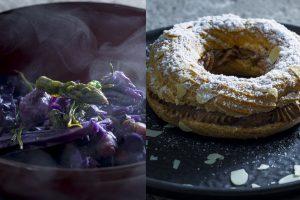 Pietums – netradicinė mėlynojo kopūsto sriuba ir Paryžiumi alsuojantis desertas
