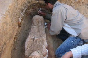 Egipte archeologai rado graikų-romėnų laikų mumiją
