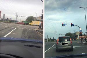 Kaunietė apie kelio ženklus sankryžose: ir kada jie apsispręs?