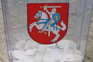 Seimo pirmininkas domėsis, kaip VRK rengiasi rinkimams ir referendumui