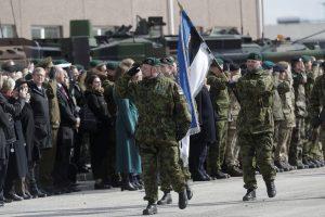 Estijoje atidaromos naujos kareivinės ir NATO kariams