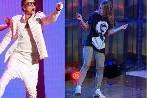 Su J. Bieberiu šokusi lietuvė: jis labai gerai kvepia