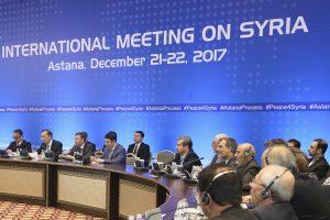 Sirijos taikos proceso dalyvės ragina spartinti politinį sprendinį