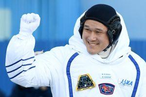 Japonų astronautas apsiriko: vis dėlto jis išaugo ne 9 centimetrais