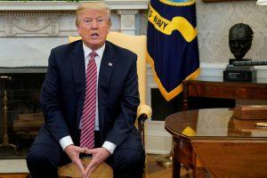 D. Trumpas neleido paviešinti demokratų pranešimą apie tyrimą dėl Rusijos