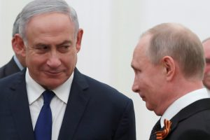 Po incidento Sirijoje – pirmasis V. Putino ir B. Netanyahu susitikimas