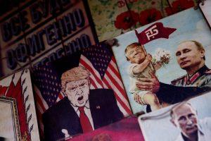 D. Trumpas ir V. Putinas – keistoji pora