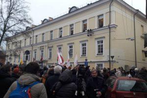 Vilniuje – mitingas dėl mokytojų algų, socialiniuose tinkluose verda aistros
