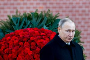 """V. Putinas: nauji Vakarų smūgiai Sirijai sukels """"chaosą"""""""