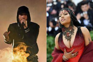 Eminemas pakurstė gandus apie susitikinėjimą su Nicki Minaj