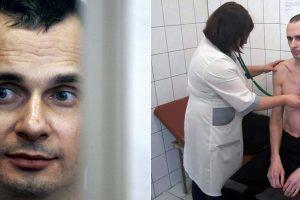 Rusijoje kalinamas ukrainiečių režisierius sako ištvėręs 145 dienų bado streiką