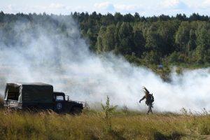 Lenkijoje vyksta šalies pajėgų ir NATO karių pratybos
