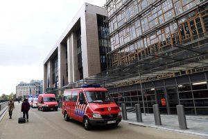 ES viršūnių susitikimo išvakarėse vėl evakuotas Briuselio pastatas
