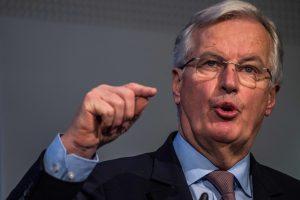 """M. Barnier: pranešimai apie susitarimą dėl """"Brexit"""" sąskaitos sumos tėra gandai"""